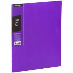 """Папка с боковым прижимом BERLINGO """"Color Zone"""", 17мм, 600мкм, фиолетовая (ACp 01607)"""