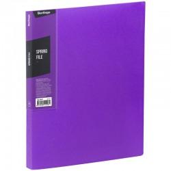 """Папка с пружинным скоросшивателем BERLINGO """"Color Zone"""", 17мм, 600мкм, фиолетовая (AHp 00607)"""