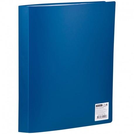 Папка с 40 вкл. Спейс 21мм. 600мкм. синяя (F40L2 290)