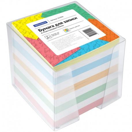 Блок для записей Спейс 9*9*9см. 1000л. в подставке, цветной (кб9-10 цсн/162004)