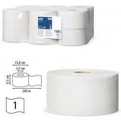 TORK  туалетная бумага Т-мини 200м., 120197