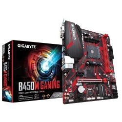Материнская плата Gigabyte B450M GAMING (SocketAM4,AMD B450,mATX,2DDR4,M.2,PCI-E16,2PCI-E,VGA,DVI,HDMI,PC2933)
