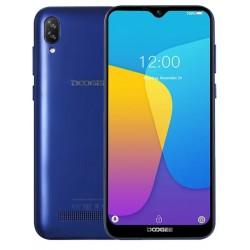 "Смартфон DOOGEE X90 Blue 2sim/6.1""/1280*600/4*1.3ГГц/1Gb/16Gb/mSD/5+8Мп/Bt/WiFi/GPS/And9.0/3400мАч"