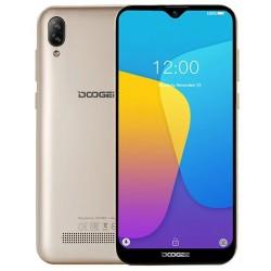 "Смартфон DOOGEE X90 Gold 2sim/6.1""/1280*600/4*1.3ГГц/1Gb/16Gb/mSD/5+8Мп/Bt/WiFi/GPS/And9.0/3400мАч"