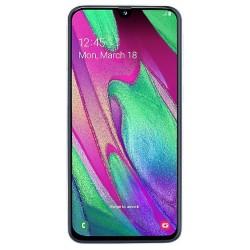 "Смартфон Samsung GalaxyA40 64GB SM-A405F White 2sim/5.9""/2340*1080/8х1.8ГГц/4Gb/64Gb/mSD/16Мп/Bt/3100mAh"
