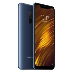 """Смартфон Xiaomi Pocophone F1 6/64 Steel Blue 2sim/6.18""""/2248*1080/8*2.8+1.8ГГц/6Gb/64Gb/mSD/12+5Мп/Bt/Wi-Fi/And9.0/4000mAh"""