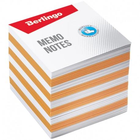 """Блок для записей BERLINGO 9*9*9см. """"Standard"""" цветной (ZP7602)"""