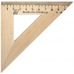 Треугольник МОЖГА 45°, 11 см дерево (С138)