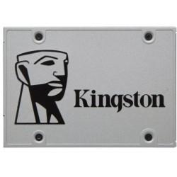 Жесткий диск SSD SATA-III 120GB Kingston SUV400S37/120G (Marvell, TLC, 350/550 Мб/с)