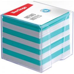 Блок для записей BERLINGO 9*9*9см. в подставке, цветной (ZP7614)