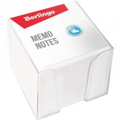 Блок для записей BERLINGO 9*9*9см. в подставке, белый (ZP7608) (113525)