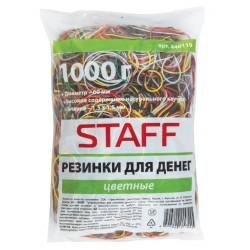 Резинка STAFF 1000 грамм, ассорти (440119)