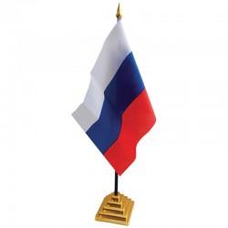 Флаг РОССИИ настольный на подставке FL 3097