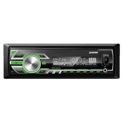 Автомагнитола Digma DCR-420G 1DIN, 4x45Вт, MP3, FM, SD, USB, AUX