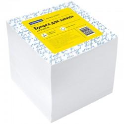 Блок для записей Спейс 9*9*9см. 1000л. белый, прокл. (КБ9-10 Бп) (153170)