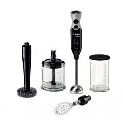 Блендер Bosch MSM67165 Black (погружной,750Вт,мерный стакан,измельчитель,венчик)