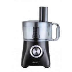 Кухонный комбайн Galaxy GL 2302 Black 800Вт, 1,2л, 4 насадки