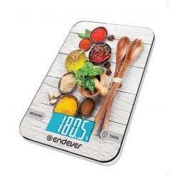 Кухонные весы Endever Chief-509 электронные, стекло, макс. 5кг, точность 1г, авто вкл/выкл