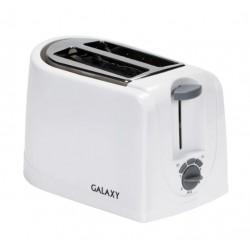 Тостер Galaxy GL 2906 White 850Вт, механическое управление