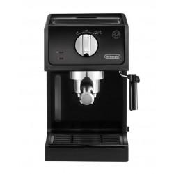 Кофеваркa Delonghi ECP 31.21 Black 1100Вт,1л,15 бар,рожковая,тип кофе: молотый/чалды