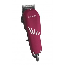 Машинка для стрижки Galaxy GL 4104 Brown длина стрижки 3-12мм, 4 насадки, от сети