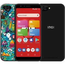 "Смартфон INOI kPhone 3G Black (5i Lite) 2sim/5.5""/1440*720/4*1.2ГГц/1Gb/8Gb/mSD/8Мп/Bt/WiFi/GPS/And8.0/2850мАч"