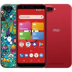 "Смартфон INOI kPhone 3G Red (5i Lite) 2sim/5.5""/1440*720/4*1.2ГГц/1Gb/8Gb/mSD/8Мп/Bt/WiFi/GPS/And8.0/2850мАч"