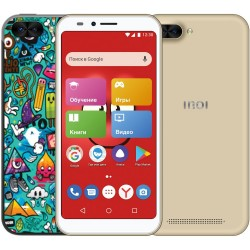 "Смартфон INOI kPhone 3G Gold (5i Lite) 2sim/5.5""/1440*720/4*1.2ГГц/1Gb/8Gb/mSD/8Мп/Bt/WiFi/GPS/And8.0/2850мАч"