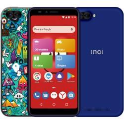 "Смартфон INOI kPhone 3G Blue (5i Lite) 2sim/5.5""/1440*720/4*1.2ГГц/1Gb/8Gb/mSD/8Мп/Bt/WiFi/GPS/And8.0/2850мАч"