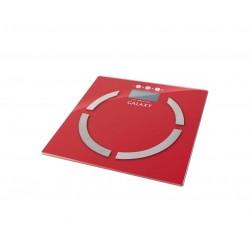 Весы Galaxy GL 4851 Red стекло, точность 0,1кг, макс. 180кг, авто вкл/выкл