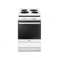 Плита электрическая Hansa FCEW53001 White 4 конфорки, духовка 69л, 50x60x85, механ. управление