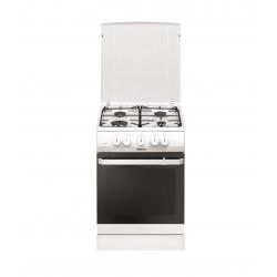 Плита комбин. Hansa FCMW53000 White 4 конфорки газ, эл. духовка 69л, 50x60x85, механ. управл.