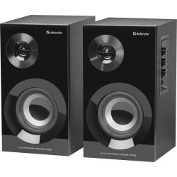 Актив.колонки 2.0 Defender Aurora S40 40Вт, Bluetooth питание от сети, MDF, Black