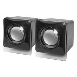 Актив.колонки 2.0 Defender SPK 35 5Вт, питание от USB, пластик, Black