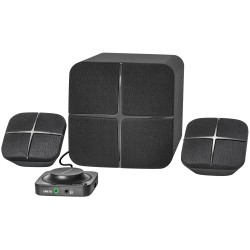 Актив.колонки 2.1 Defender X460 42Вт, Bluetooth, питание от сети, пластик+MDF, Black
