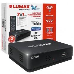 Цифровая приставка DVB-T2 Lumax DV1120HD HDMI 1080p/RCA/TimeShift/ТВгид/запись