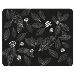 Коврик для мыши Dialog PM-H15  leafs тканевый (220х180х4) Black