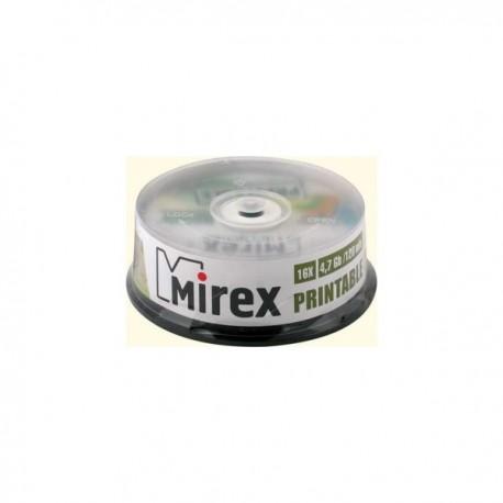 Диск DVD+R  10шт Mirex 4.7Gb 16x Cake box 130013A1L
