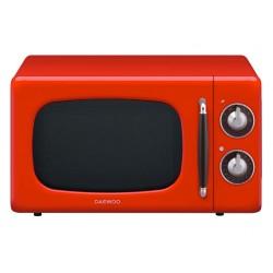 Микроволновая печь DAEWOOKOR-6697R Red (800Вт,20л,механ-е упр.)
