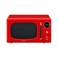Микроволновая печь DAEWOOKOR-669RR Red (800Вт,20л,электр-е упр.)