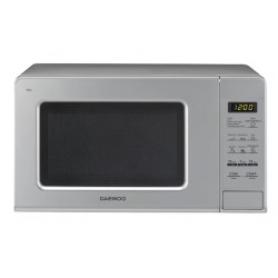 Микроволновая печь DAEWOOKOR-770BS Silver (700Вт,20л,электр-е упр.)