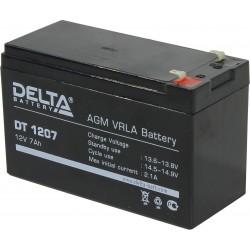 Аккумулятор Delta DT1207 (12V, 7Ah)