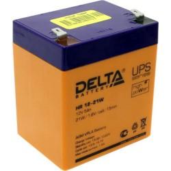 Аккумулятор Delta HR 12-21W (12V, 5Ah)