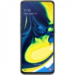 "Смартфон Samsung GalaxyA80 SM-A805F Black 2sim/6.7""/2400*1080/8х2ГГц/8Gb/128Gb/mSD/48+8Мп/Bt/WiFi/And9.0/3700mAh"