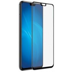 Защитное стекло для Huawei Honor 8X/8X Premium/9X Lite с цветной рамкой (fullscreen) DF hwColor-74 (black)