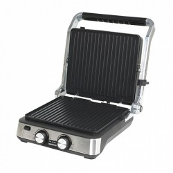 Гриль Endever Grillmaster 235 Silver/black 2000Вт, антипригарное покрытие