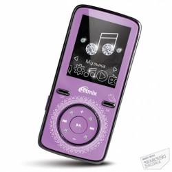 "MP3 плеер RITMIX RF-4850 8Gb Фиолетовый (1.8"",MP3,WMA,JPG,BMP,MicroSDHC до 16Gb,до 8ч)"