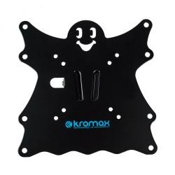 "Кронштейн Kromax CASPER-201 черный настенный,20-43"",до 30кг,от стены 50мм,наклон +5°/-15°"