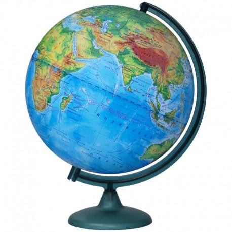 Глобус физический Глобусный мир, 32см, на круглой подставке 10013
