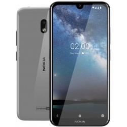 "Смартфон Nokia 2.2 16Gb Steel 2sim/5.71""/1520*720/4*2.0ГГц/2Gb/16Gb/mSD/13Мп/Bt/WiFi/GPS/And9/3000mAh"
